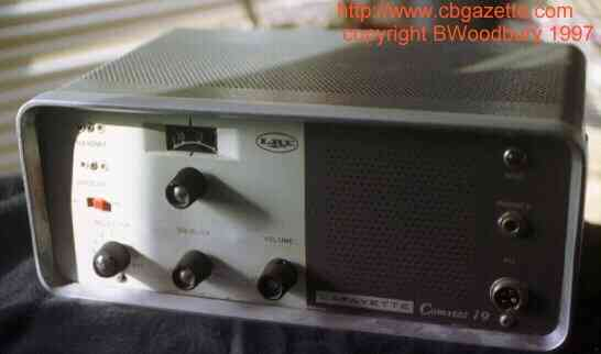 K6HR Radio Timeline: Lafayette Comstat 19