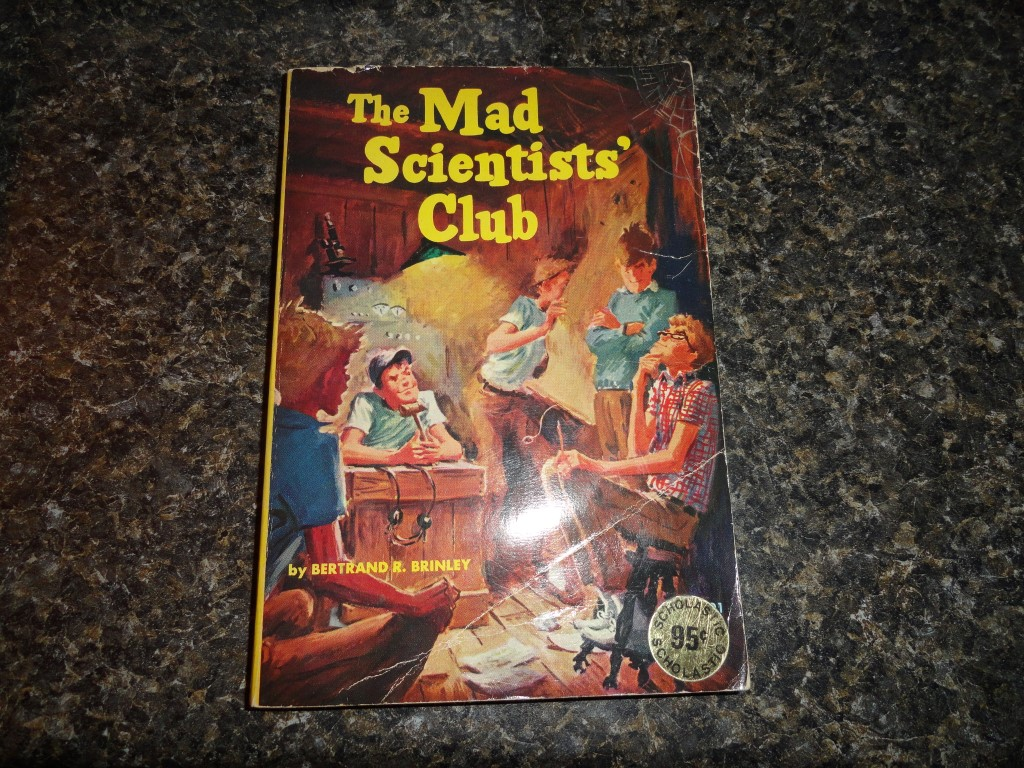 Mad Scientists' Club - By Bertrand R. Brinley