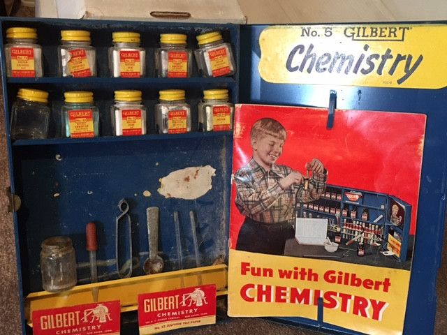 Gilbert No. 5 Chemistry Set