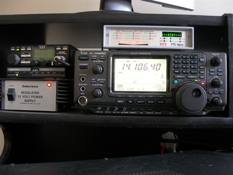 SCS PTC2 Pro and IC-746 Pro PACTOR Operations