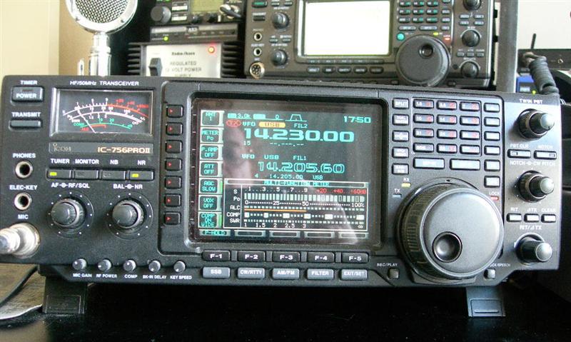 IC-756 PRO2 - SSTV Cam