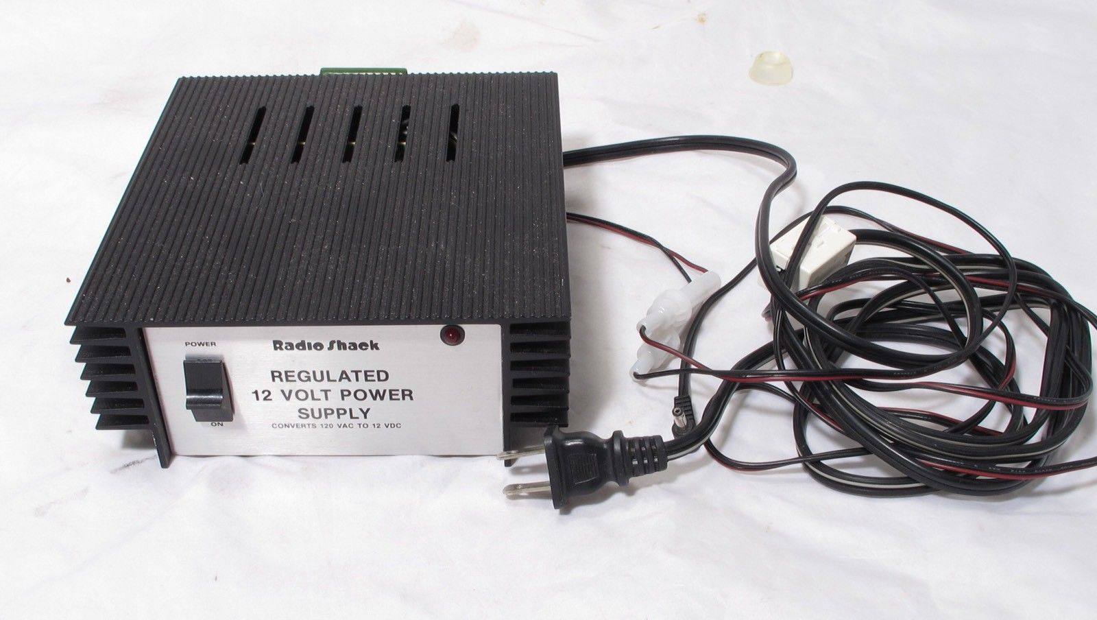 Radio Shack 12 volt Power Supply