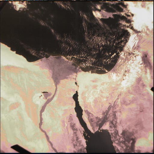 UO-36 Earth Image: Egypt