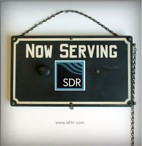 Now Serving SDR