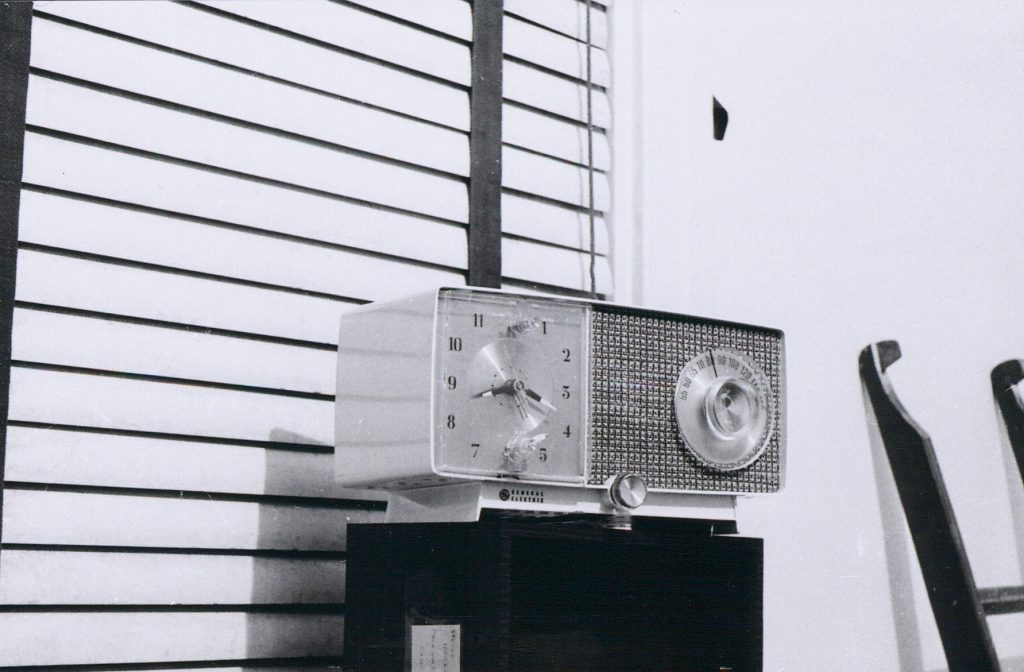 K6HR Radio Timeline: The Family's Old Household Radio