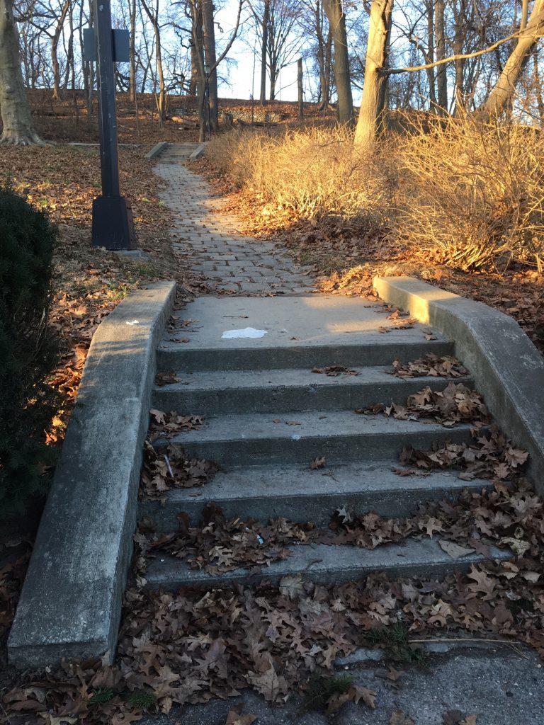 Heitmann Memorial Stairs